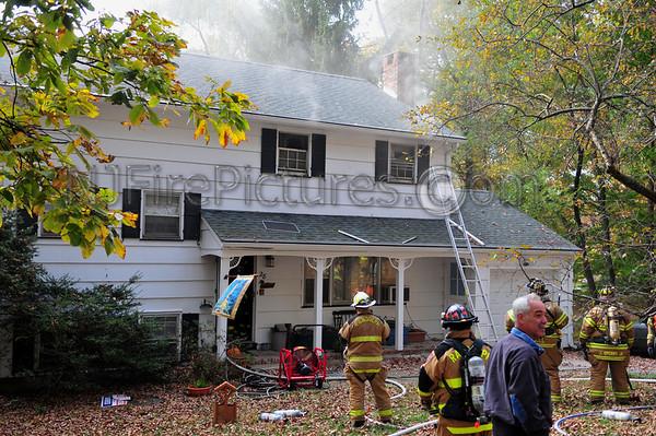 Randolph, NJ House Fire 28 Radtke Road October 21, 2008