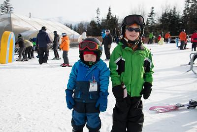 Skiing at Bretton Woods - Jan 2016