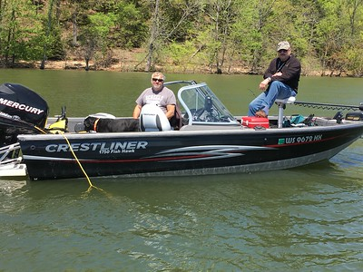 KENTUCKY LAKE FISHING TRIP 4/27-5/3