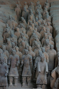 Xi'an - Terra Cotta Warriors and Horses