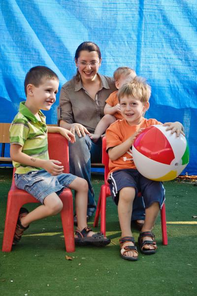 Yonatan, Vika, Itai, Yoav