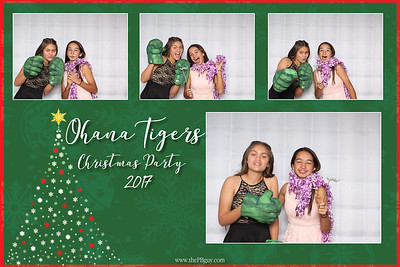 Ohana Tigers Christmas Party