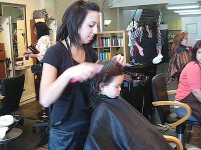 4/11 - A successful haircut