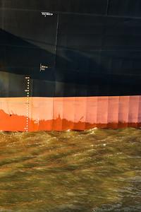 2014 03 20 Hamburger Hafen Verholer Hansaport nach Moorburg