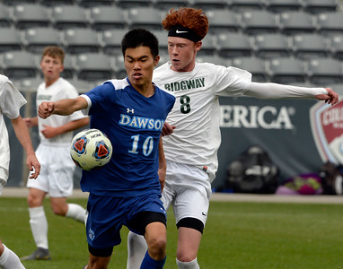 Photos: Dawson loses to Ridgway in 2A Boys Soccer Finals