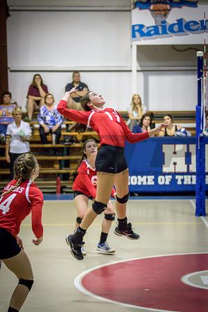 HHA vs DA V Volleyball 10-13-16
