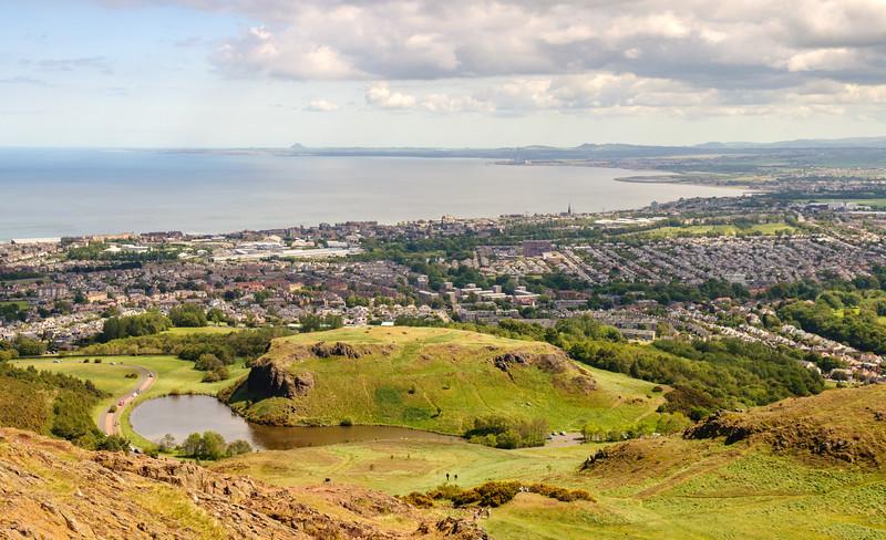 Portobello and the Firth of Forth