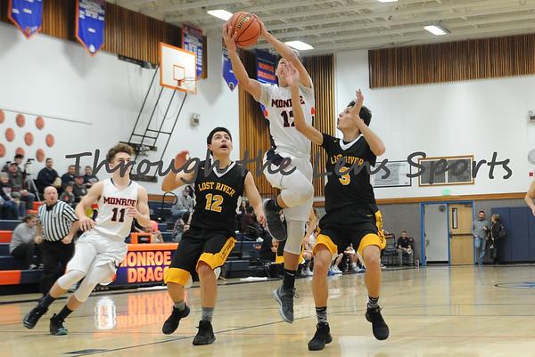 Monroe vs. Lost River Boys HS Basketball