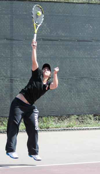 Occidental Women's Tennis 4-14-12