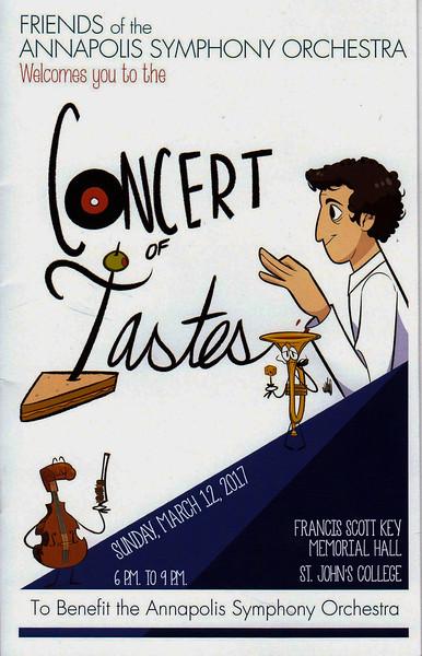 Concert of Tastes 2017