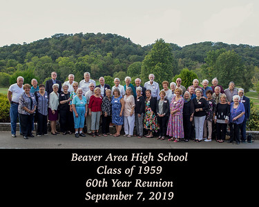 Beaver Area High School Class of 1959 Reunion