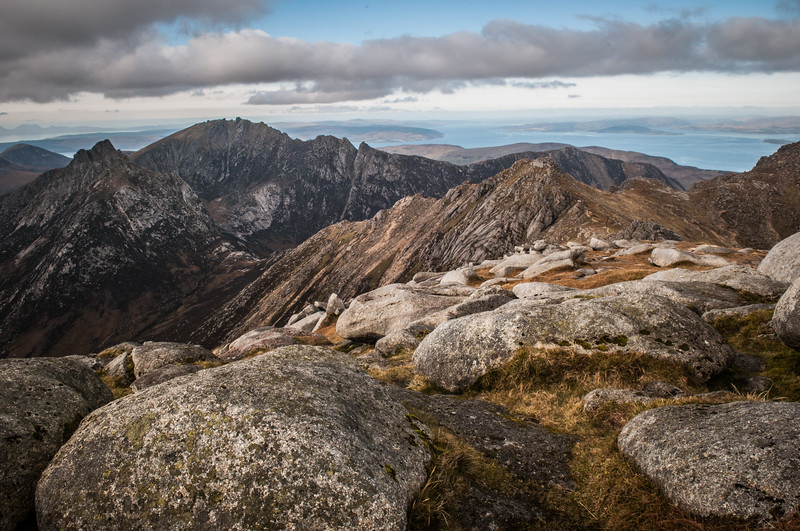 View from Summit of Goatfell