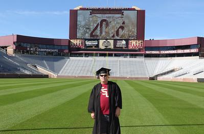 2016 Graduation Photos on the field
