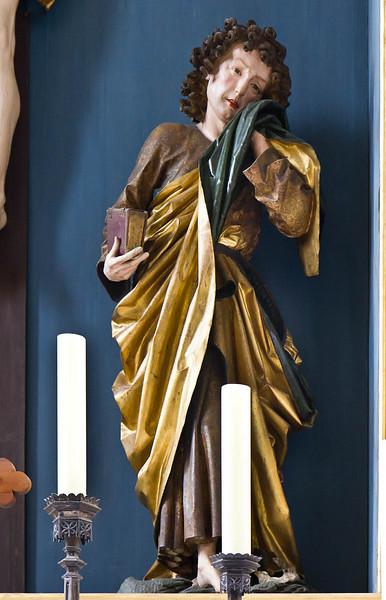 Nördlingen. St. Georg: Hochaltar, Johannes d.E.