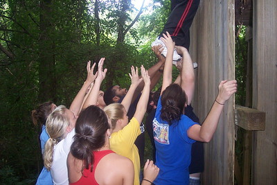 Ropes Course 2006 (All Clawson, all day long)