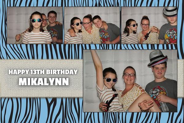 Mikalynn's 13th Birthday