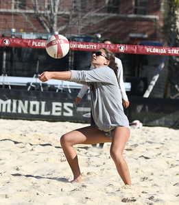 FSU Beach Volleyball Camp (02/26/2017)