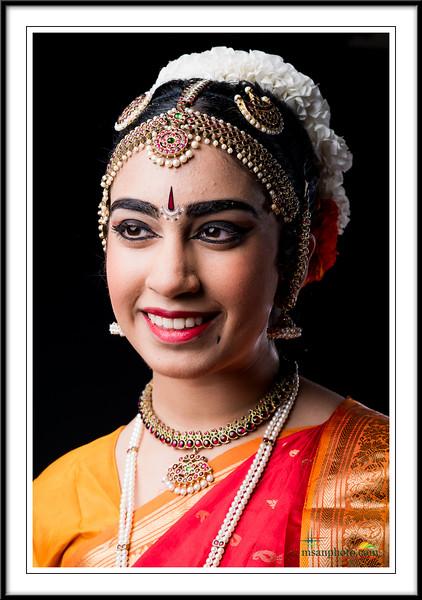 Divya's Pre-Arangertam Portraits 2017