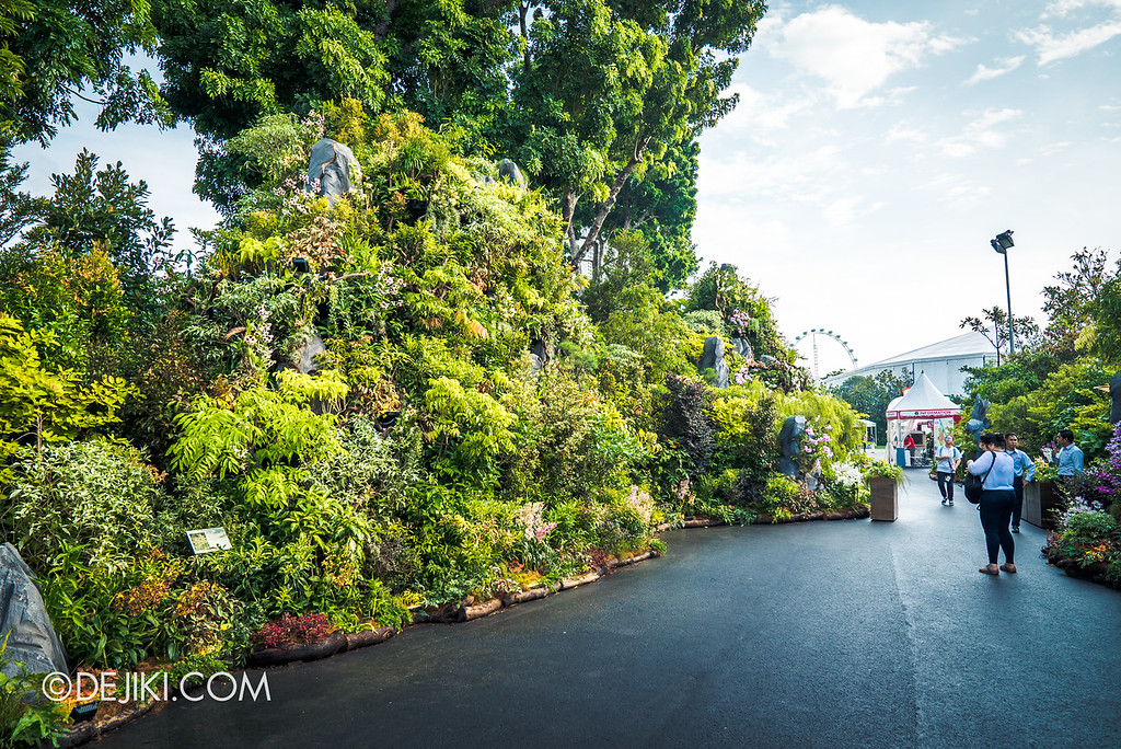 Singapore Garden Festival 2018 - The Mountains entrance