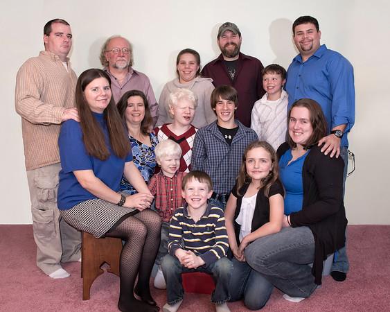 Hoisington Family 2014