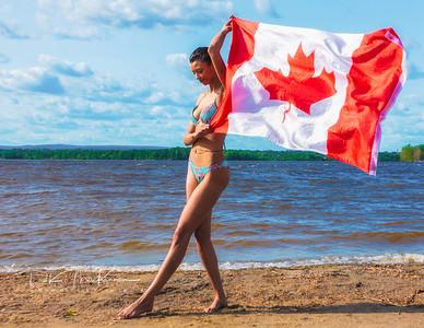 Aziza Canada Day