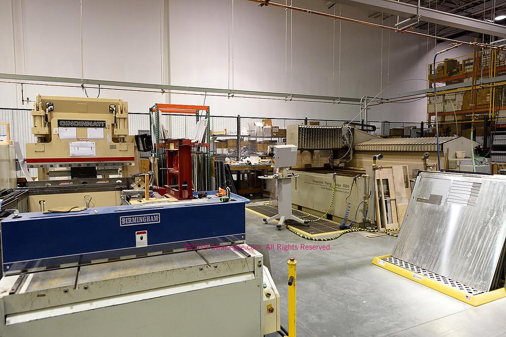 Crestron metal working shop