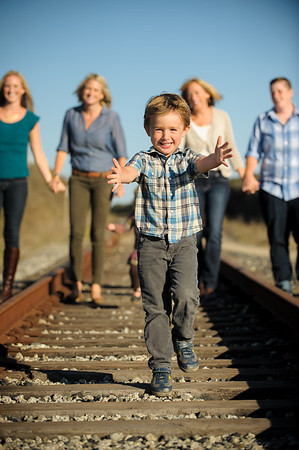 Haux Family (Family Portrait Photography, Panther Beach, Santa Cruz, California)