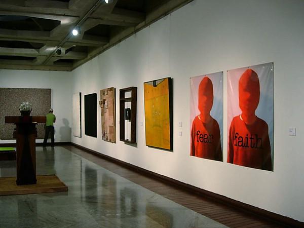 fear faith, III salon exxon-mobil, museo de bellas artes, caracas, 2005