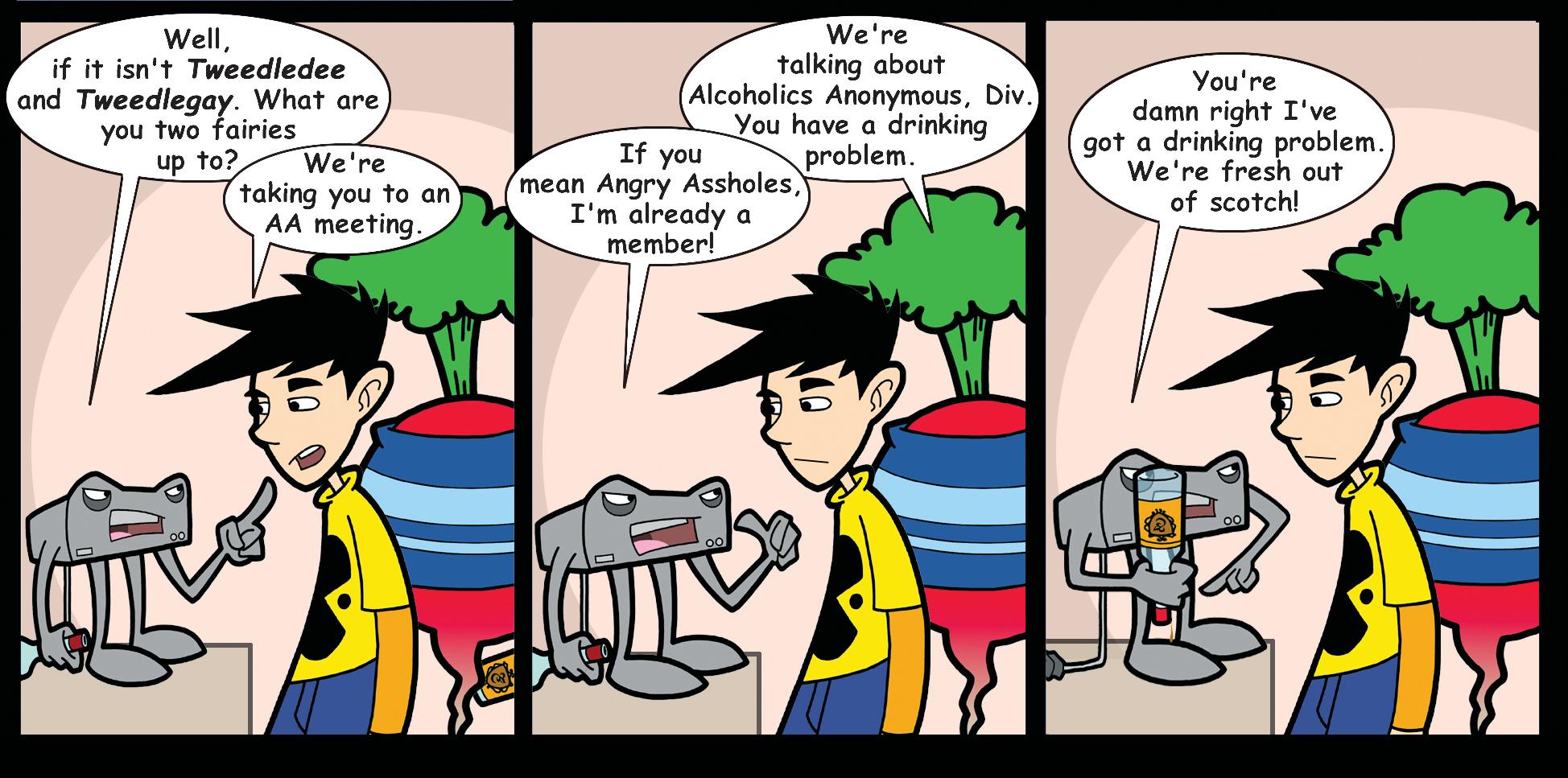 Part One: Confrontation