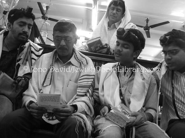 INDIA, Mumbai (Bombay). Purim @ Tiphaereth (Tifereth) Israel Synagogue (March 10, 2009). (2009)