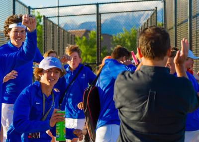 2021-04-27 Dixie HS Tennis - Region 9 Champions