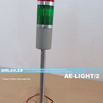SKU: AE-LIGHT/2, Indication Signal Tower Warning Lights of 2 Colours, Red and Green