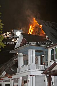 Park Ave. Fire (Bridgeport, CT) 4/30/13