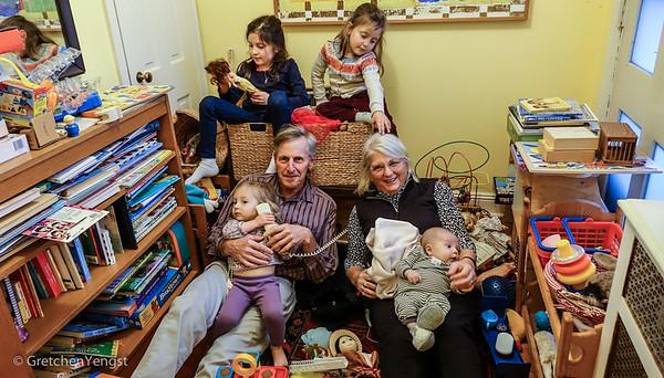 Hutton and John Family