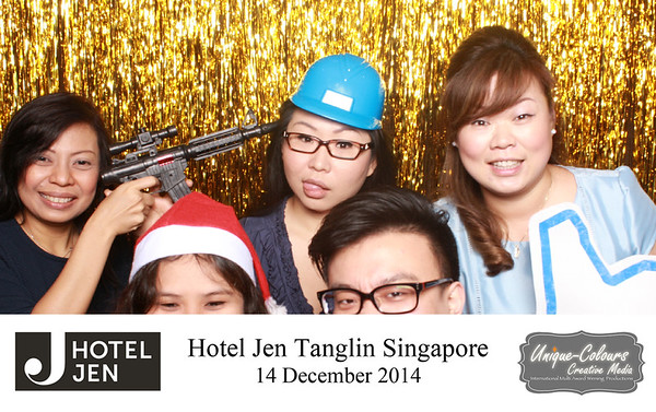 Jen Hotel Singapore Photobooth
