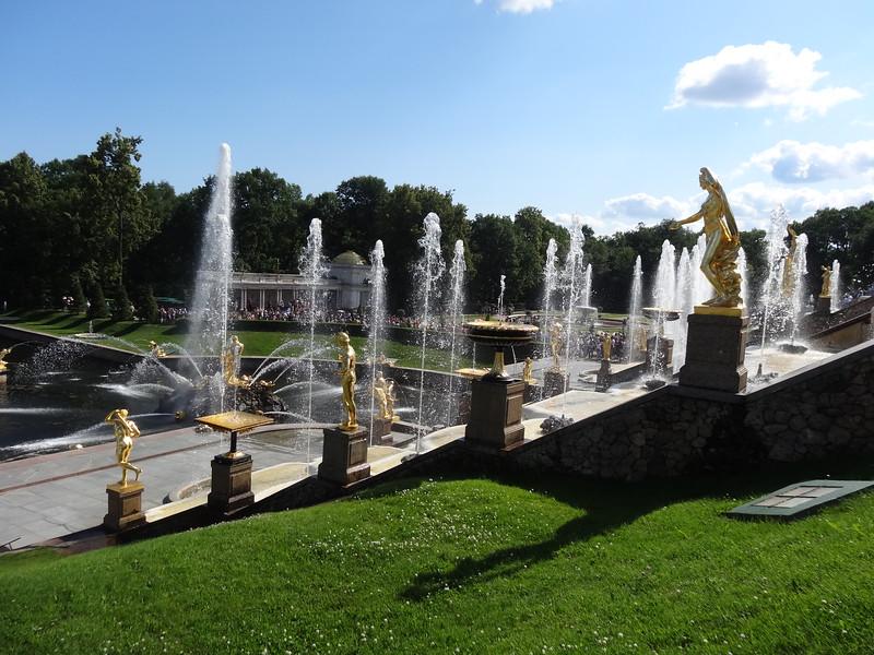 csw3; rc3Grand Cascade and Samson Fountain, Peterhof Lower Gardens, Peterhof, St. Petersburg, Russia