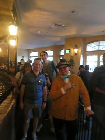 Disneyland 2016 with Fab 7