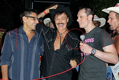 """NEW YORK, NY - SEPTEMBER 13:  The official wedding after party of the Original Village People Cowboy Randy Jones & Will Grega's Marriage, The 13th Annual """"Kings & Cowboys"""" Birthday Celebration of Actor Keith Collins & Original Village People Cowboy"""
