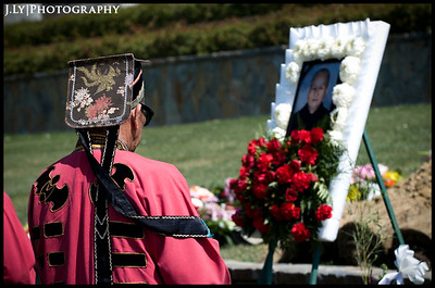 3.10.09 / Mrs. Choc Chung Laid to Rest/ Whittier,CA