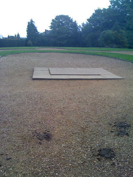 Site of the Abbey altar and Harold's demise