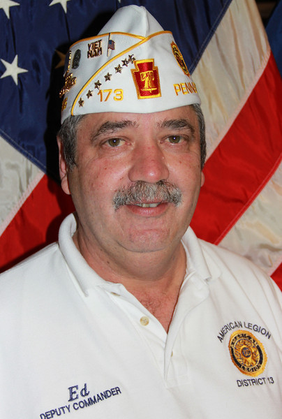 Ed Smith named Grand Marshal, Veterans Day Parade, American Legion, Tamaqua (10-27-2012)