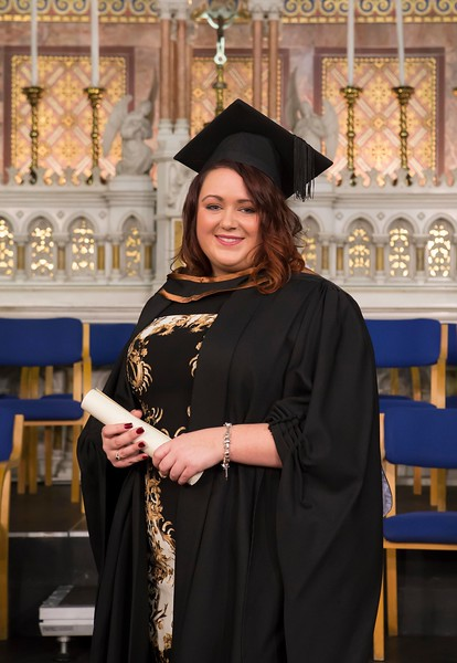 Waterford Institute Of Technology Conferring. Pictured at WIT Waterford Institute Of Technology Conferring Edel Fitzpatrick from Portlaoise who graduated Bachelor Of Science (Hons) Engineering. Picture: Patrick Browne