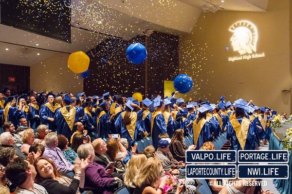 Highland High School Graduation 2016