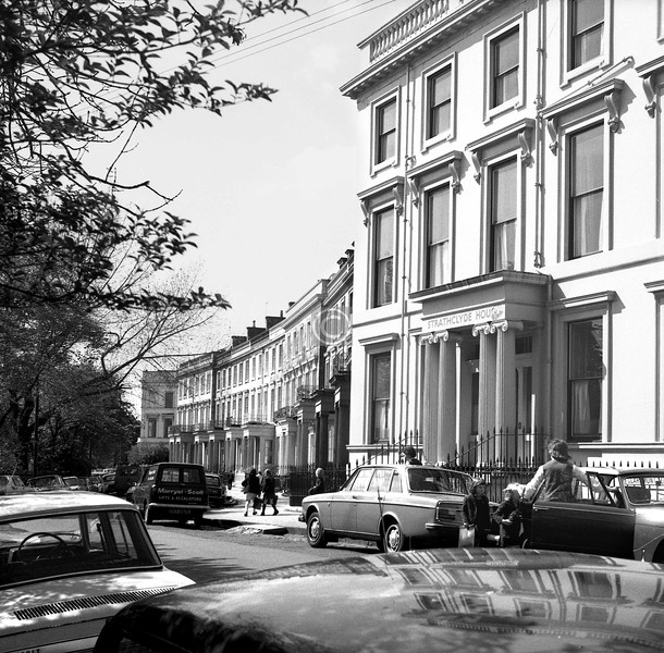 Claremont Terrace.   May 1974