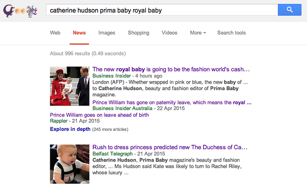 Royal baby expert comment