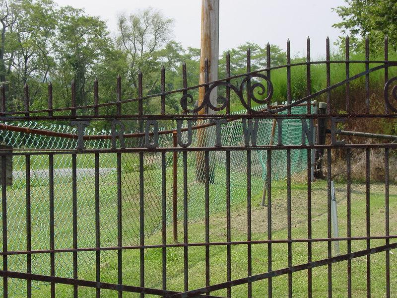 Gate, Troutwine Cemetery, Lynchburg, Ohio