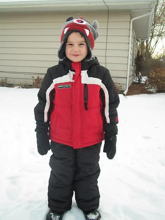 Snow!! December 2013