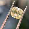 2.10ct Light Yellow Antique Peruzzi Cut Diamond, GIA W-X SI2 19
