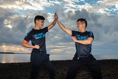 Kung Fu School - Cleveland Sunset - July 2018