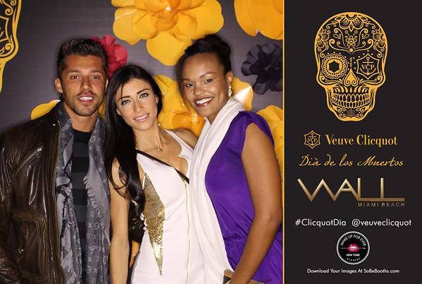 2014-11-1 Veuve Cliquot at Wall